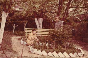 Stasys ir Janina Šneideriai. Daugpilis. Apie 1974 m. Panevėžio apskrities G. Petkevičaitės-Bitės viešoji biblioteka, Stasio Šneiderio rankraščių fondas F51