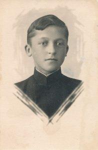 Panevėžio valstybinės gimnazijos moksleivis Stasys Šneideris. Fotogr. J. Žitkaus. 1935 m. PAVB F51-57