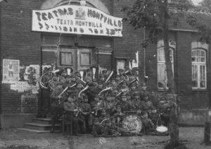 2. Aštuntojo pėstininkų Kauno kunigaikščio Vaidoto pulko orkestras. Nuotrauka iš privačios kolekcijos