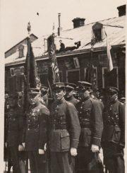 3. Panevėžio rinktinės šauliai. XX a. 4 deš. Nuotrauka iš Panevėžio kraštotyros muziejaus rinkinių