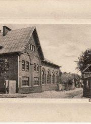 3. Panevėžio miesto elektrinė. Nuotrauka iš Panevėžio kraštotyros muziejaus rinkinio
