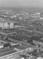 2. Panevėžio pramoninis šiaurės vakarų rajonas. 1985 m. Nuotrauka iš www.miestai.net