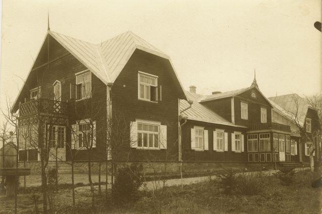 1. Panevėžio vyskupijos pastatas. XX a. 4 deš. Nuotrauka iš privačios kolekcijos