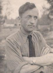 Stasys Šneideris tremtyje. 1953 m. Ust Omčiugas (Tenkos r., Magadano sr.). Panevėžio apskrities G. Petkevičaitės-Bitės viešoji biblioteka, Stasio Šneiderio rankraščių fondas F51-57