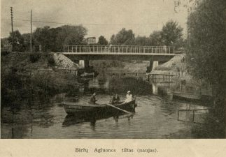 1. Biržų Agluonos tiltas (naujas)