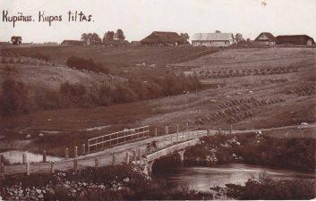2. Kupos tiltas. 1927–1932 m.