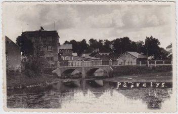 4. Istorinė Pasvalio miesto vieta: Svalios ir Lėvens santaka. XX a. pirmoji pusė