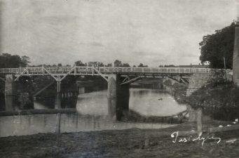 3. Tiltas per Lėvenį. Pasvalys, 1927 m.