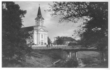 6. Joniškėlio katalikų bažnyčia ir Mažupės tiltas