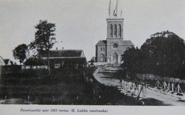 5. Panemunėlis. Apie 1923 m.