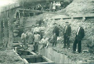 6. Tilto per Kupą statyba 1937 m.