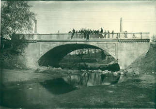 7. Užbaigta tilto per Kupą statyba. 1939 m.