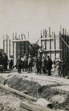 11. Saločių tilto statyba. Apie 1929 m. Fotogr. Chaitas Icikas