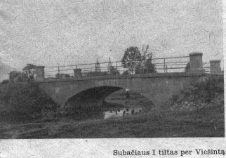 8. Subačiaus I tiltas per Viešintą