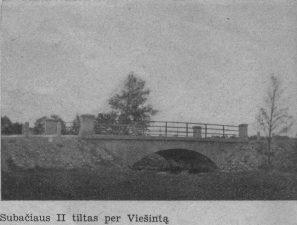 9. Subačiaus II tiltas per Viešintą