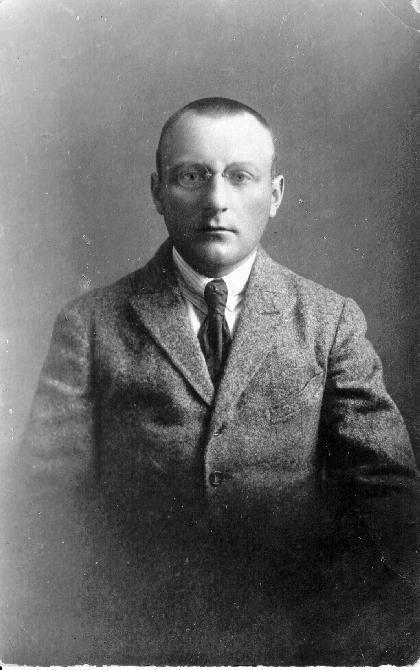 Kipras Bielinis. 1923 m.