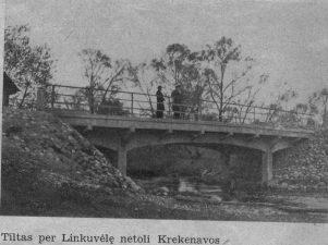 11. Tiltas per Linkuvėlę netoli Krekenavos