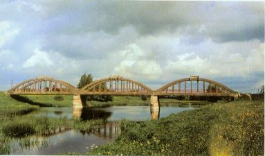 19. Tiltas per Mūšą netoli Pasvalio