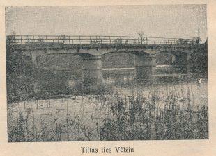 21. Tiltas ties Velžiu
