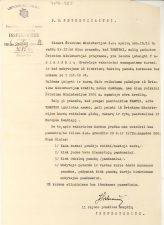 Panevėžio apskrities II rajono pradžios mokyklų inspektoriaus leidimas G. Petkevičaitei organizuoti vakarinius kursus suaugusiems Puziniškių dvarelyje. 1926 m. spalio 26 d. LLTI MB F30-923