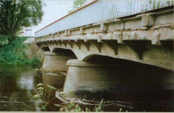 22. Tiltas per Nevėžį kelio Anykščiai–Panevėžys 51,7 km. Velžio tiltas