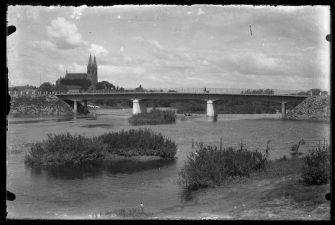 10. Inžinieriaus Prano Markūno suprojektuotas Gerberio sistemos tiltas per Nevėžį Krekenavoje, pastatytas 1931 m.