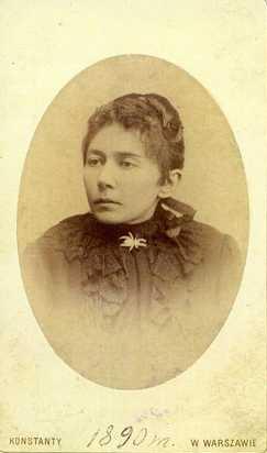 Gabrielė Petkevičaitė-Bitė. 1890 m. LLTI MB Apl. 394, Inv. Nr. 11170