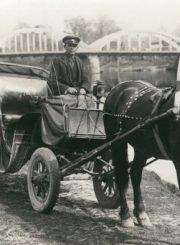 1.Vežikas Panevėžio mieste. XX a. 4 deš. Nuotrauka iš Panevėžio kraštotyros muziejaus rinkinių