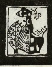 Jurgelionytė, Toma. Ex libris G. P. Bitei – 150. 2010. 1/9 X3. 10,4 x 8,1 cm
