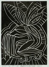 Gabrytė, Gerda. Ex libris Bitei – 150. 2010. 2/10 X3. 10,5 x,15,0 cm