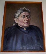 Beresnevičius, Alfonsas. Gabrielė Petkevičaitė-Bitė: portretas. Aliejinė tapyba. Panevėžio Juozo Balčikonio gimnazijos nuosavybė