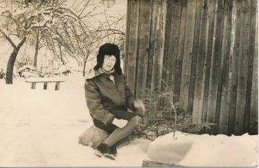 Alina Lileikienė. Stetiškiai (Panevėžys). Apie 1970 m.