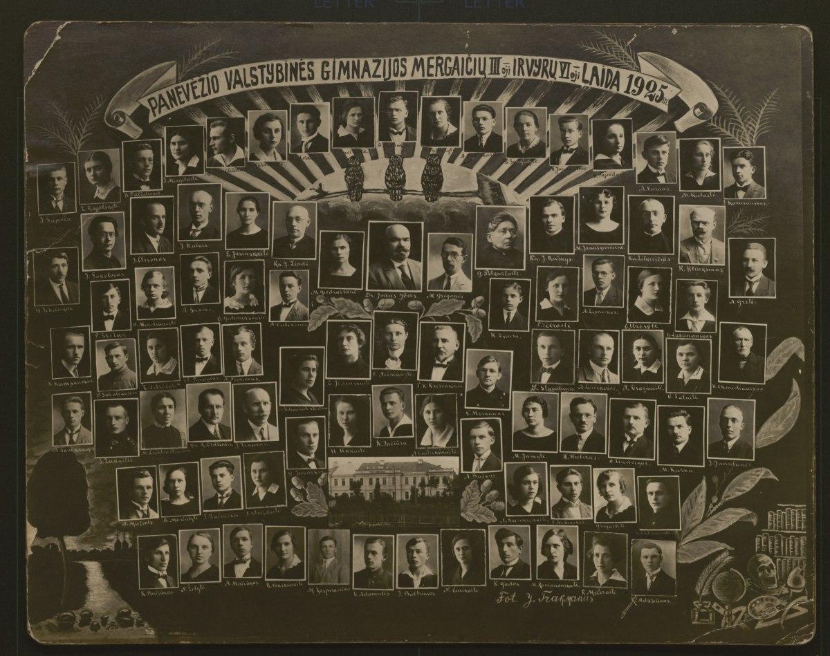 Vinjetė iš Panevėžio kraštotyros muziejaus fondų. PKM F2718 GEK 14301