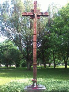 Blaivybės kryžius. Astos Rimkūnienės nuotrauka