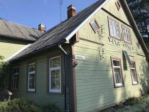 Namas Panevėžyje, kuriame paskutinius gyvenimo metus praleido Gabrielė Petkevičaitė-Bitė. Nuotrauka Rasos Baškienės