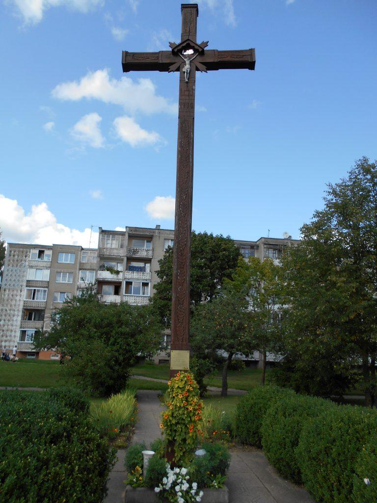Pavasarininkų kryžius. Astos Rimkūnienės nuotrauka