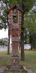 """Stogastulpis """"Pirmasis skambutis Panevėžyje"""". Astos Rimkūnienės nuotrauka"""