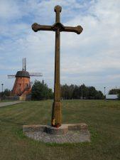 Kryžius Ramygalos gatvės gyventojams atminti. Astos Rimkūnienės nuotrauka