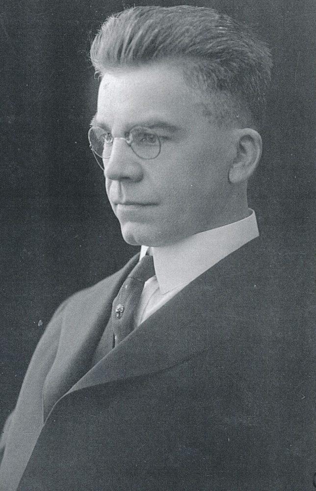 Antanas Lalis. Čikaga. Apie 1920 m.