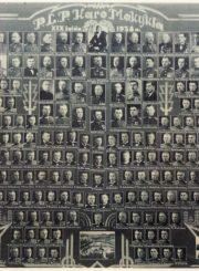 3. Karo mokyklos XIX laida 1938 m. Nuotrauka iš Panevėžio kraštotyros muziejaus rinkinio