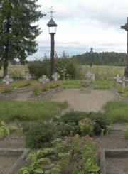 2.Nepriklausomybės kovų dalyvių kapai Liūdynėje. E. Ivanausko nuotrauka