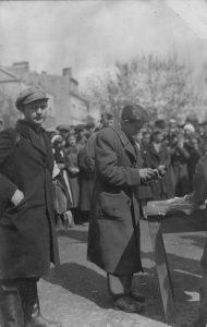 2. Vežimai darbams į Vokietiją 1942 m. Nuotrauka iš privačios kolekcijos
