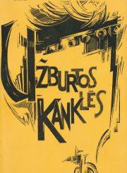 "Frankienė-Vaitkevičienė, Vanda. Užburtos kanklės : pasakojimai apie senovę / Vanda Frankienė-Vaitkevičienė ; [viršelis ir iliustracijos Sesers M. Mercedes]. [Chicago (Ill.) : ""Laiškai lietuviams"", 1971] (Putnam (Conn.) : Immaculata Press). 166, [1] p. : iliustr."
