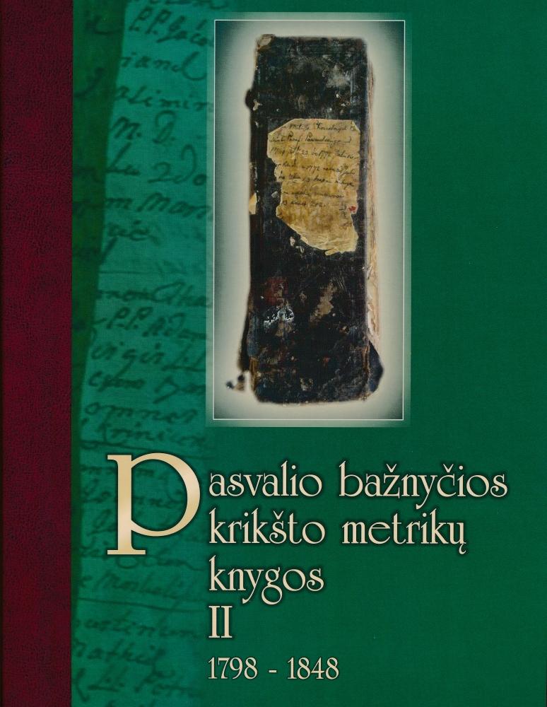 Pasvalio bažnyčios krikšto metrikų knygos