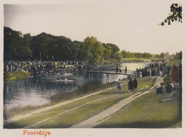 1.Panevėžiečių masinių renginių vieta –Skaistakalnio parkas. Nuotrauka iš V. Vitkausko kolekcijos