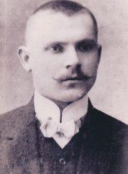 Juozas Čerkesas-Besparnis. 1910 m. PAVB F8-465