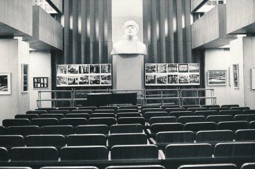 Panevėžio parodų rūmų interjeras. 1983 04