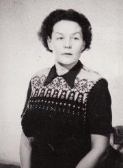 Ona Konkulevičiūtė–Banionienė. Fotogr. K. Vitkaus. PAVB FKV-295/28