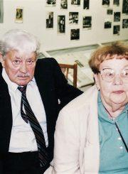 Ona ir Donatas Banioniai J. Miltinio palikimo studijų centre. 2004 m.