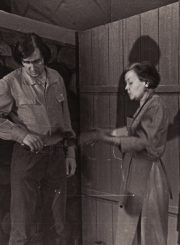 "A. Salynskis ""Marija"" (rež. Juozas Miltinis, Vaclovas Blėdis), 1972 m. Juozas Valužis – Konstantinas Avdoninas, Ona Konkulevičiūtė – Gurjanova. Fotogr. K. Vitkaus. PAVB FKV-199/14-1"